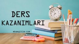 10.Sınıf Matematik Dersi Kazanımları Pdf (2018-2019)