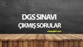 2014 DGS Matematik Çıkmış Sorular ve Çözümleri Pdf