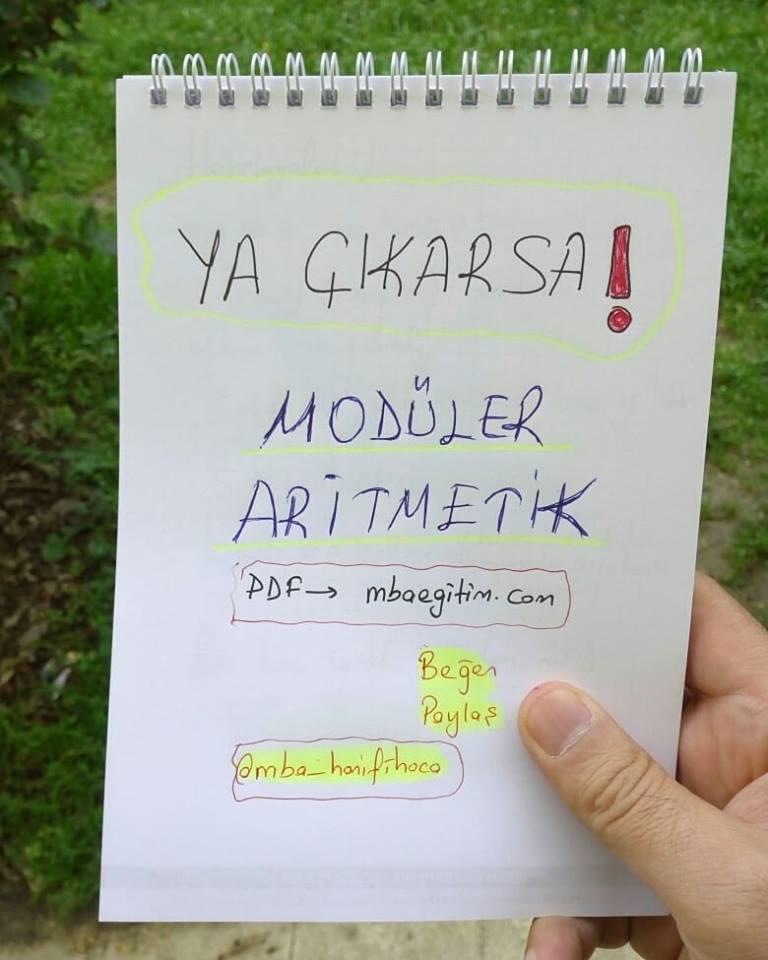 modüler aritmetik1