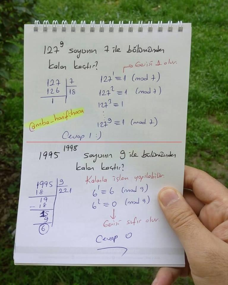 modüler aritmetik6