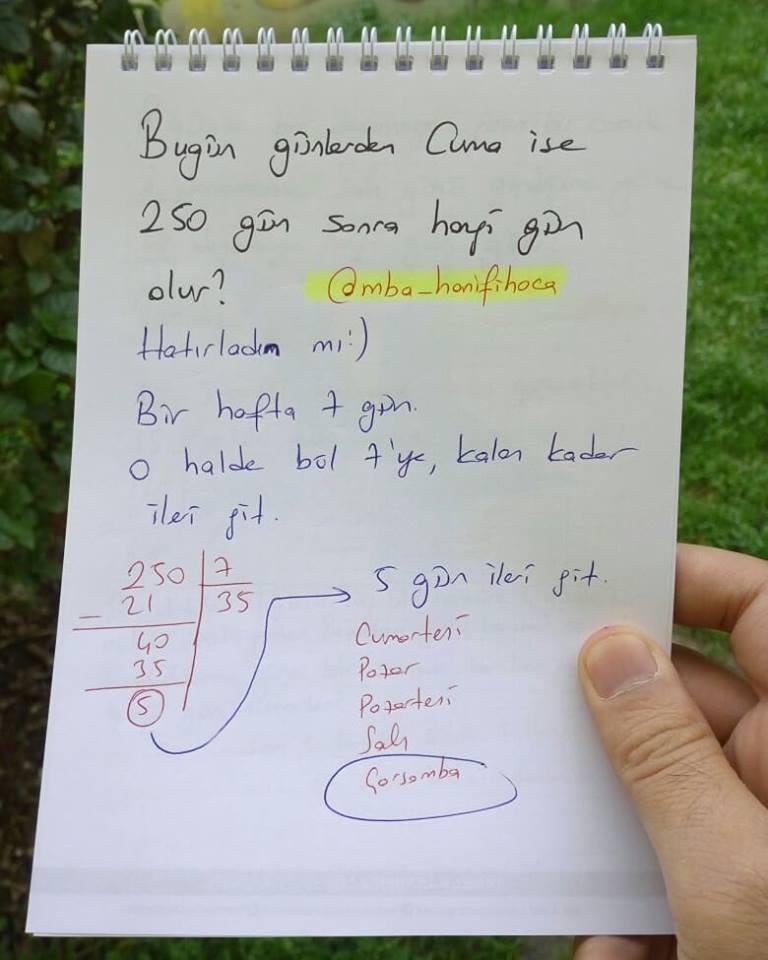 modüler aritmetik9