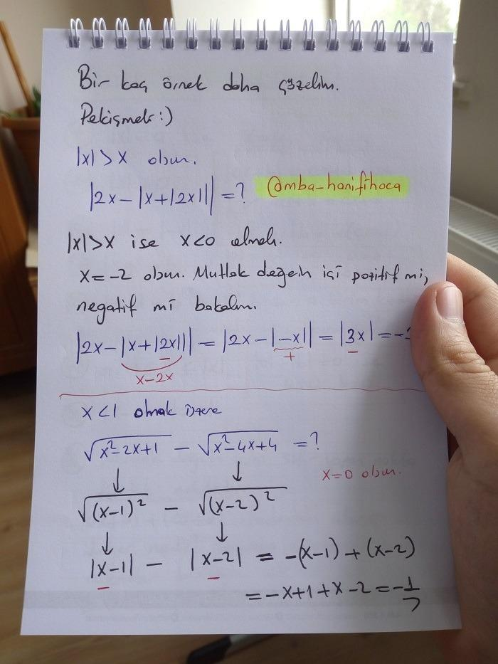 mutlak değer ders notu4
