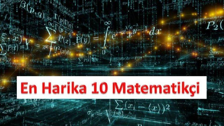 Tarihteki En Ünlü 10 Matematikçi Bilim Adamları Ünlü Matematikçiler