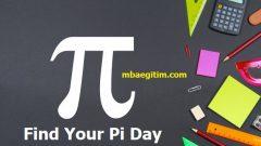 Pi Sayısı İçinde Doğum Tarihi Bulma, Find Your Pi Day