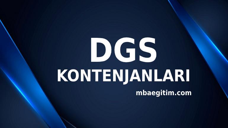 DGS Kontenjanları 2020 2021 ÖSYM