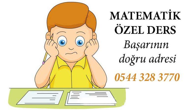 Üniversite Hazırlık Matematik Özel Ders İstanbul (YKS DGS)