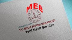 MEB TYT Yeni Nesil Sorular 2020 Yayınlandı