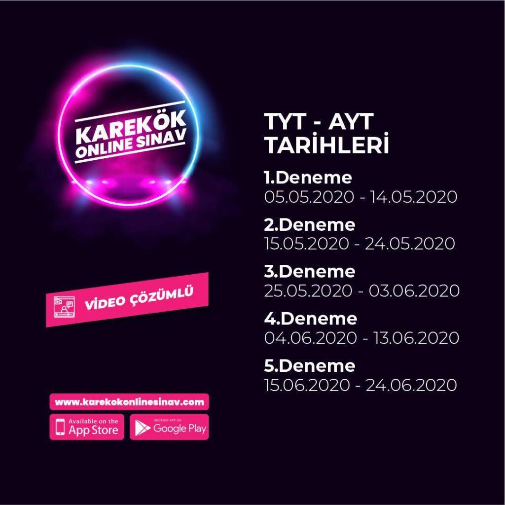 Karekök Yayınları Online Deneme Sınavı