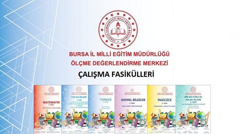 Bursa İl Milli Eğitim Müdürlüğü Evim İlkokulum Haftalık Fasikül