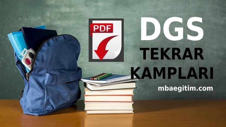 DGS Matematik Kampı 2020