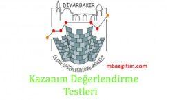 Diyarbakır ÖDM Kazanım Değerlendirme Testleri PDF 8. Sınıf İl MEM