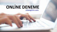 Bartın Milli Eğitim Online LGS Deneme Sınavı PDF Cevap Anahtarı