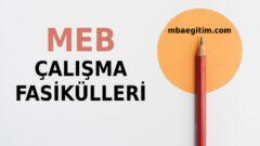 MEB Çalışma Fasikülleri 2021 (Tüm Sınıflar)