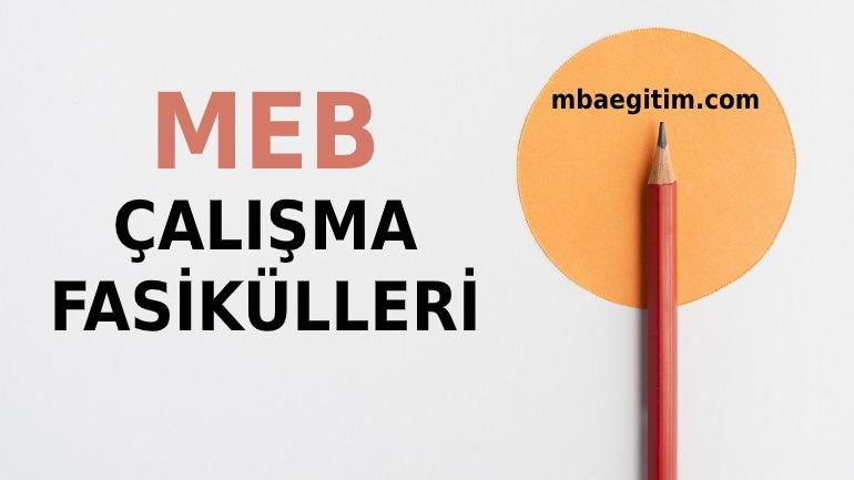 MEB Çalışma Fasikülleri 8.Sınıf PDF 2020 LGS