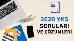 2020 TYT Soruları ve Çözümleri PDF – 2020 AYT Çözümleri PDF – 2020 YKS Çözümleri