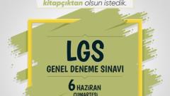 Töder LGS Deneme Sınavı ve Cevap Anahtarı 6 Haziran 2020 Sonuçları