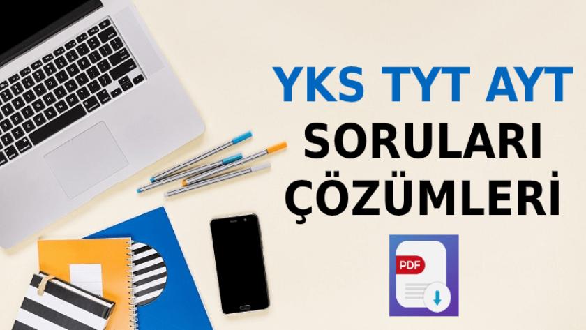 TYT AYT YKS Soruları ve Çözümleri PDF (2018-2019-2020-2021)